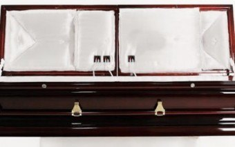 $35,000 coffin with Music for Afterlife