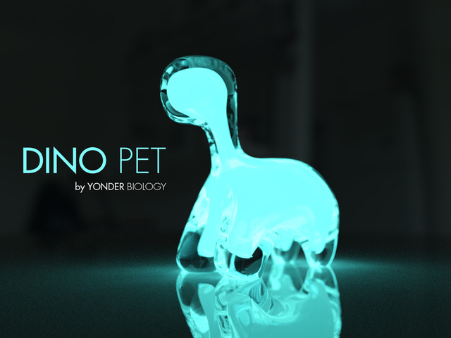 Dino Pet Bioluminescent Night Light Amp Toy Gadgetify Com