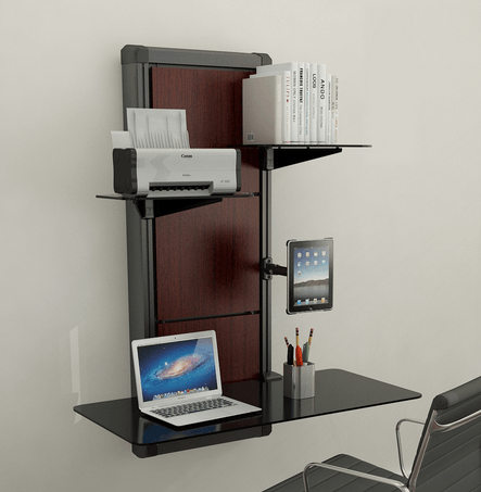 home office wall mount desk for laptops tablets