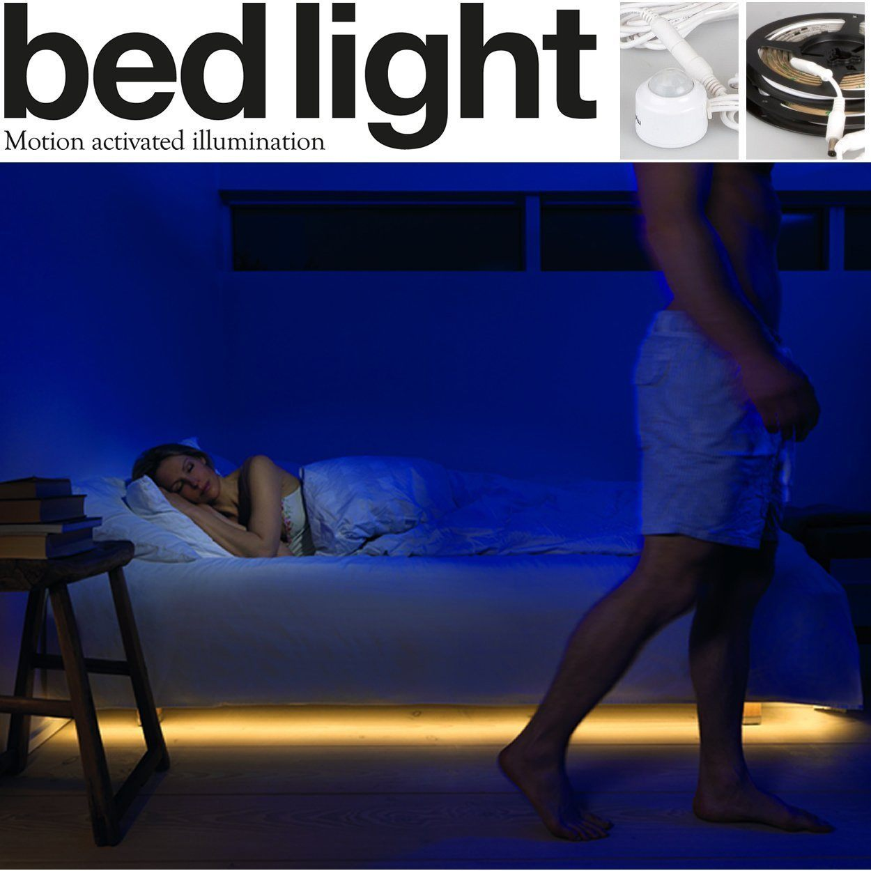 Mylight Me Motion Activated Bed Light Gadgetify Com