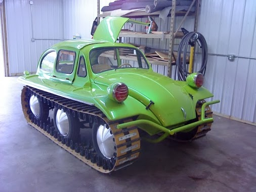 off road volkswagen beetle is ready for action