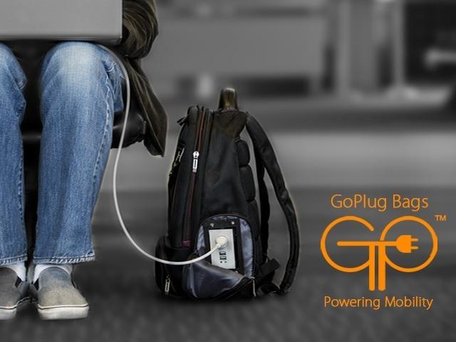 Goplug Powered Bags Gadgetify Com
