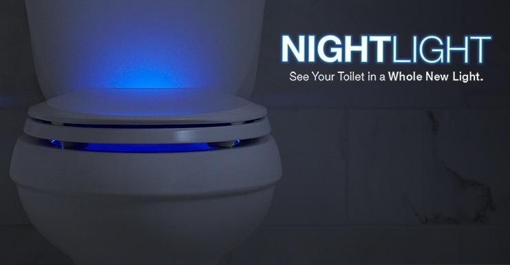 Nightlight Lighted Toilet Seats Gadgetify Com