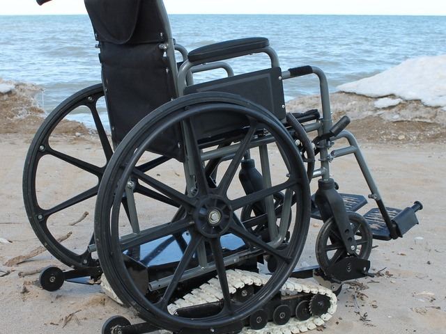Freedom Trax For Wheelchairs Powered Track Device