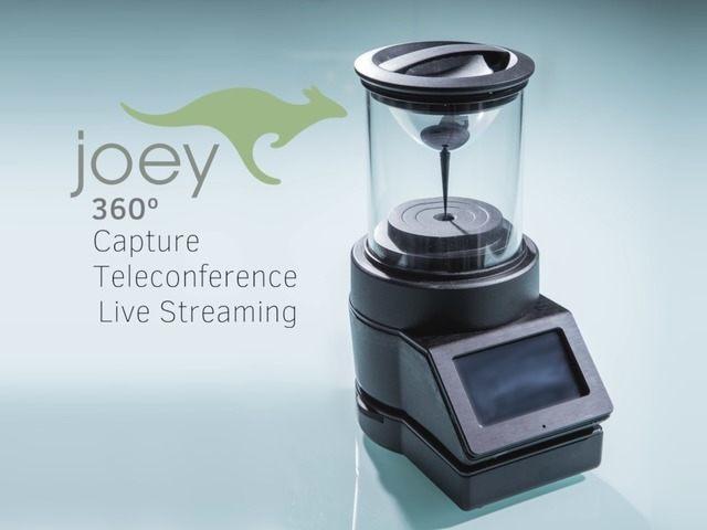 Joey – 360° 4K Video Camera System