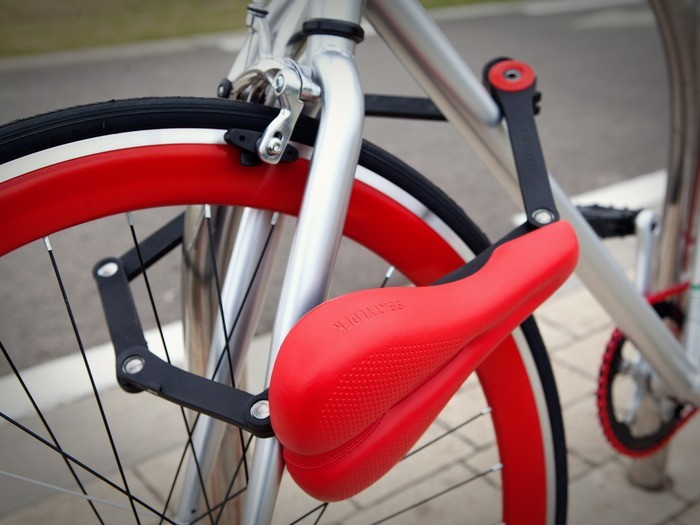 Seatylock: Bicycle Saddle + Lock