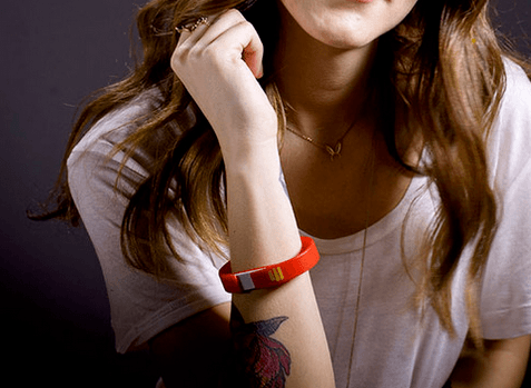 UME Drive Bracelet: Waterproof + Flash Drive