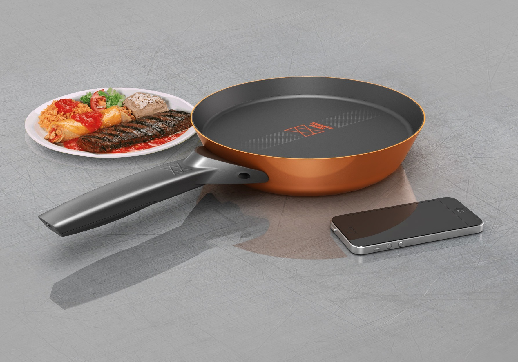 SmartyPans Smart Cooking Pan Counts Calories & More