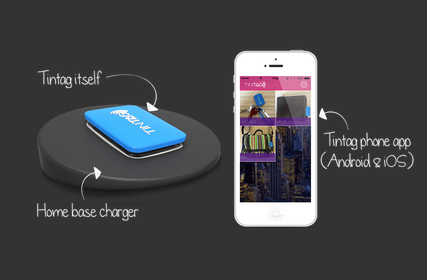 Tintag Tracking Device Finds Your Items