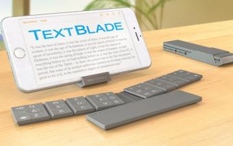 TextBlade Versatile Keyboard for Tablets & Phones