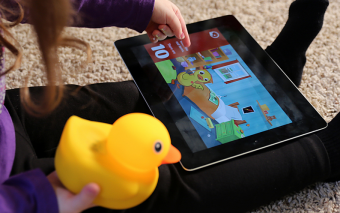 Edwin the Duck: Interactive Rubber Duck + App