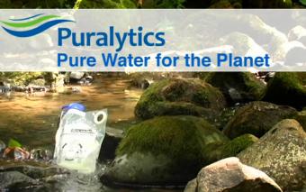 Puralytics SolarBag Solar Water Purifier