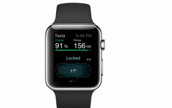 Apple Watch Tesla Car App