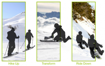 Zibock: Hiking & Skiing System