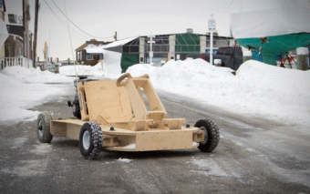 PlyFly Go-Kart: Gas-Powered, Easy to Assemble