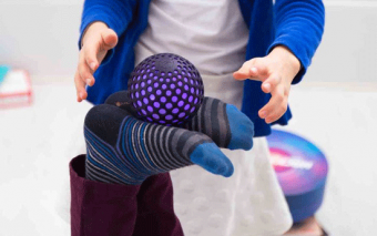 Hackaball: Programmable Ball Keeps Your Kids Active