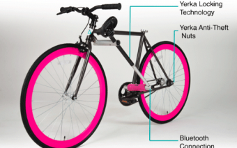 YERKA: Bike with Integrated Lock + Bluetooth