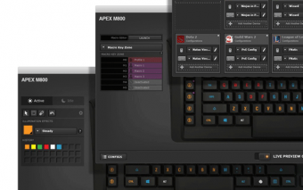 SteelSeries Apex M800 Keyboard: Mechanical + Customizable