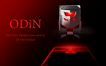 ODiN Laser Projection Mouse
