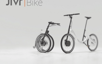 JIVR Chainless, Folding Smart E-Bike [iBeacon-enabled]