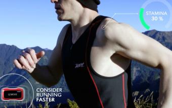 GoMore Stamina Sensor / Fuel Gauge Monitor for Runners