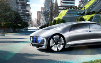 Mercedes-Benz F 015 Self-Driving Car In a Smart City