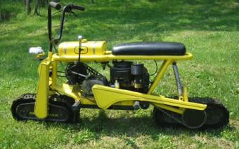 Track Powered 2×2 Minibike