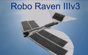 Robo Raven IIIv3 w/ Solar Cells Integrated Into Its Wings