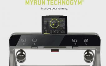 MyRun Technogym Treadmill w/ Biofeedback System