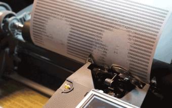 This Typewriter Produces ASCII-art Portraits