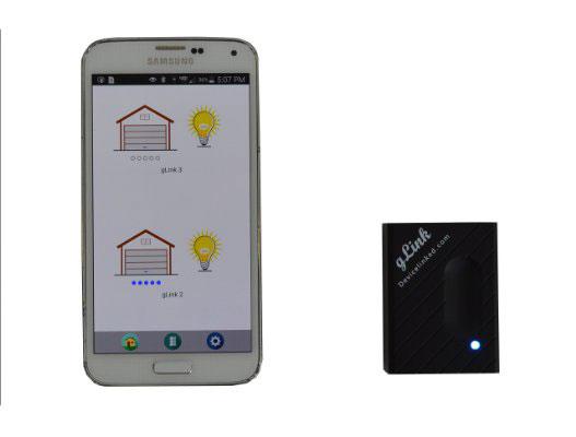 Glink Turn Your Smartphone Into A Garage Door Opener