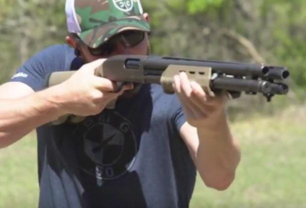 Homemade Quad Barrel Shotgun