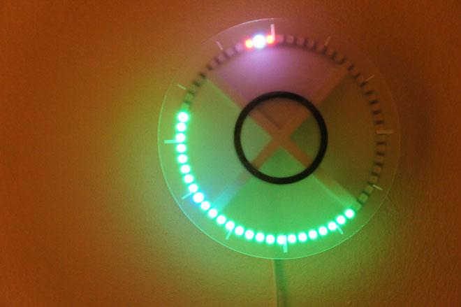 3D Printed LED Wall Clock
