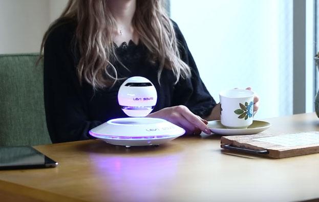Levi Sound: Luminescent Levitating Bluetooth Speaker