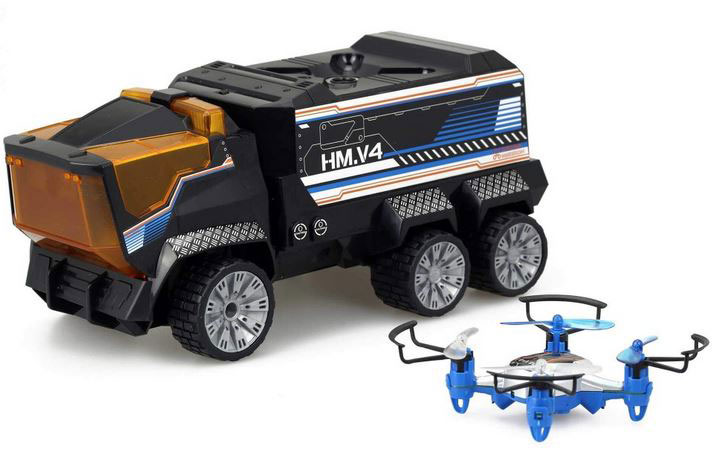 Silverlit Drone Mission Rc Drone Carrying Truck