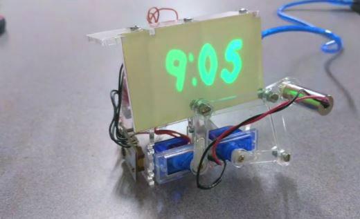 DIY: Glow in the Dark Laser Clock with Arduino