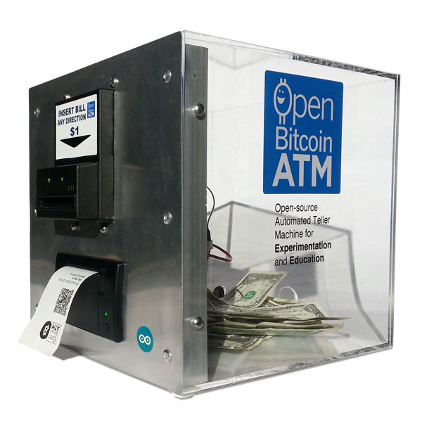 DIY: Open Bitcoin ATM with Arduino