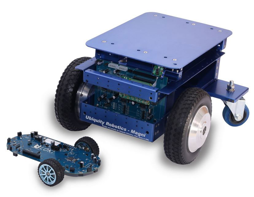 Magni ROS Enabled Robot with 100kg Payload