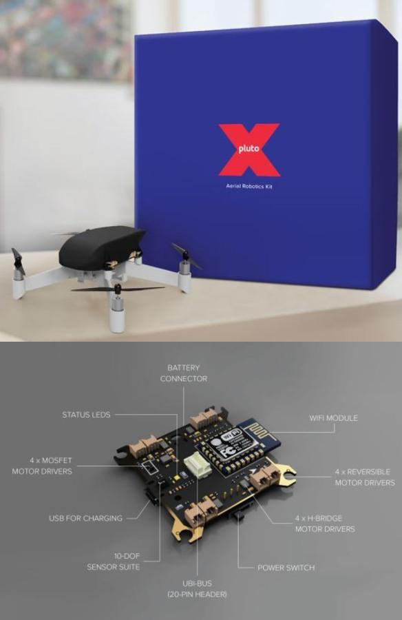 PlutoX Open Source Programmable Drone Kit