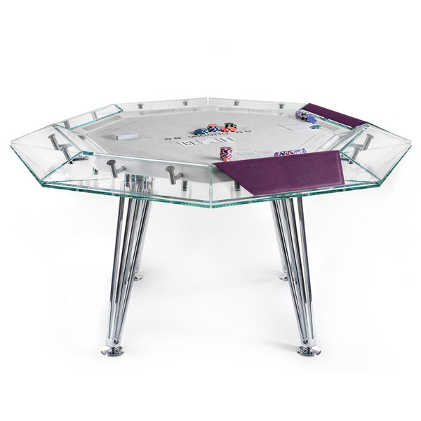 Unootto 8 Player Poker Table