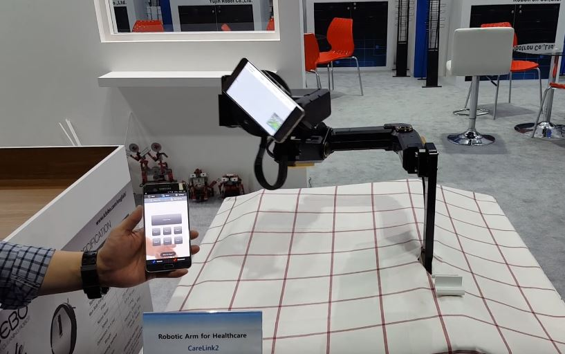 CareLink2: Wheelchair Robot Arm with App Control