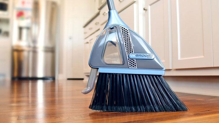 VaBroom: Smart Broom with Built-in Vacuum