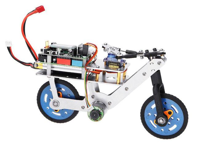 Arduino Self Balancing Robot Bike with Bluetooth