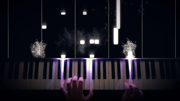 Rousseau-inspired Raspberry Pi LED Piano Visualizer