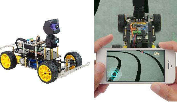XiaoR Geek Donkey Car: Raspberry Pi Robot with TensorFlow