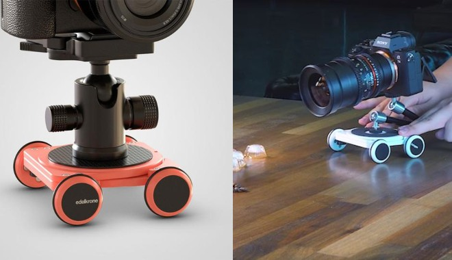 image relating to Printable Camera known as Skater 3D: 3D Printable Tabletop Dolly for Your Digicam