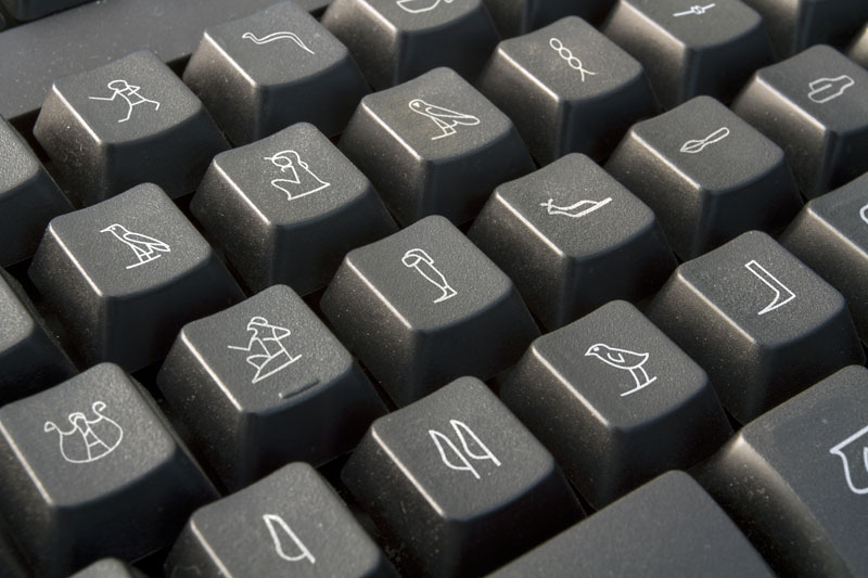 egyption keyboard