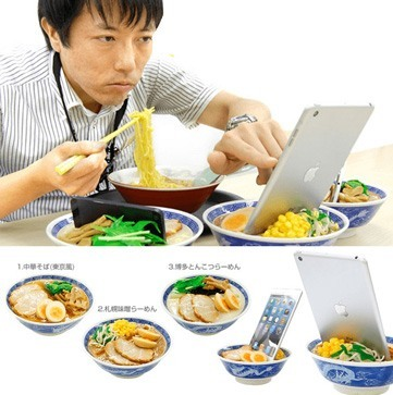 tablet bowl stand