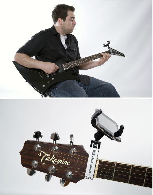 guitar support for smartphones