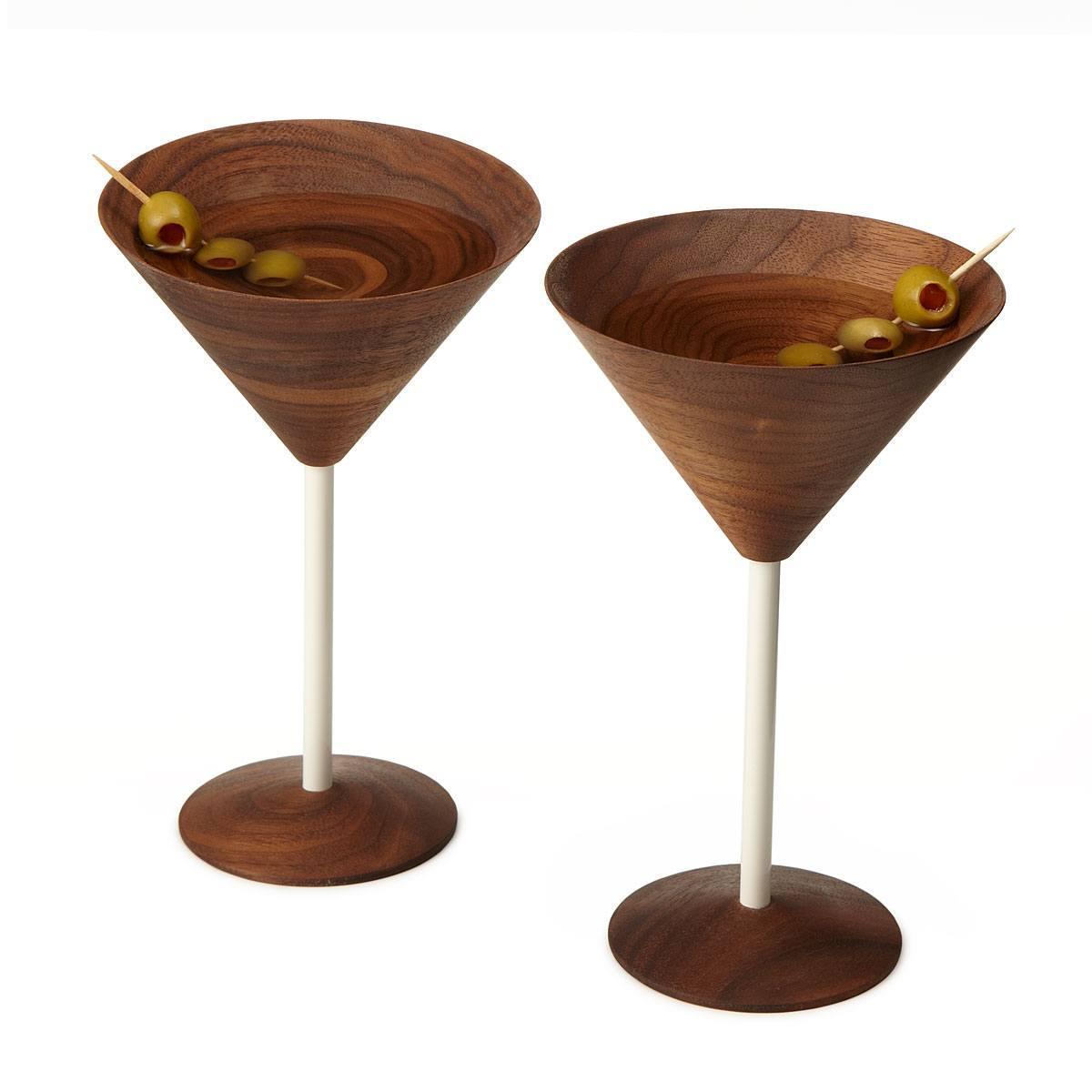 wooden martini
